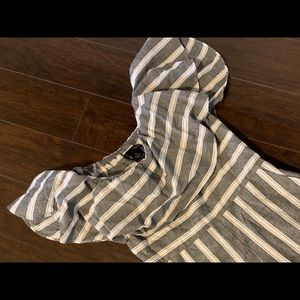 Aqua brand striped romper